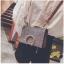 [ พร้อมส่ง ] - กระเป๋าคลัทช์ สะพาย สีเรนโบว์ หนังน้ำตาลเท่ๆ ดีไซน์สวยหรู ฟรุ้งฟริ้ง วิ้งค์ๆทั้งใบ ขนาดกระทัดรัด งานสวยมากๆค่ะ thumbnail 16