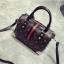 [ พร้อมส่ง Hi-End ] - กระเป๋าถือ/สะพาย ทรงหมอนใบกลางๆ สีดำ ลาย LV ดีไซน์สวยเรียบหรู ดูดีสไตล์แบรนด์ งานหนังคุณภาพดีแบบหนาไม่บาง thumbnail 18