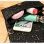 [ พร้อมส่ง ] - กระเป๋าคลัทช์ สะพาย สีดำ ดีไซน์สวยหรู ฟรุ้งฟริ้ง วิ้งค์ๆทั้งใบ ขนาดกระทัดรัด งานสวยมากๆค่ะ thumbnail 18