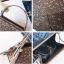 [ พร้อมส่ง ] - กระเป๋าถือ/สะพาย สีเงินวิ้งค์ๆ ขนาดใบเล็กๆ กระทัดรัด ดีไซน์สวยเก๋หัวบิดเปิดกระเป๋า ดูดี งานสวยน่ารักค่ะ thumbnail 11