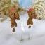 ต่างหู น้องหมา ยอร์คเชีย Yorkshire Terrier Earrings thumbnail 2