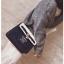 [ Pre-Order ] - กระเป๋าถือ/สะพาย สีน้ำเงิน ดีไซน์สวยน่ารัก ฟรุ้งฟริ้ง ใบกลางๆ ตกแต่งแม่กุญแจเก๋ๆ งานสวยไม่เหมือนใคร thumbnail 6