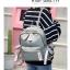 [ พร้อมส่ง ] - กระเป๋าเป้แฟชั่น สีเทา สุดเท่ ดีไซน์สวยเก๋ไม่ซ้ำใคร สวยสุดมั่น เหมาะกับสาว ๆ ที่ชอบกระเป๋าเป้น้ำหนักเบาๆ thumbnail 7