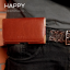HAPPY กระเป๋าหนังคาดเอว เคส ซอง ไซด์ XXL แนวนอน สำหรับ Samsung Galaxy A7 / E7 thumbnail 2