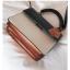 [ พร้อมส่ง ] - กระเป๋าถือ/สะพาย สีทูโทนขาวดำ ทรงกล่องขนาดกระทัดรัด ห้อยป้ายเก๋ๆ ดีไซน์สวยเรียบหรู ดูดี งานหนังคุณภาพดี ช่องใส่ของ 3 ช่อง thumbnail 21