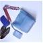 [ พร้อมส่ง ] - กระเป๋าสะพายไหล่แฟชั่น สีฟ้า ทรงถัง + กระเป๋าใบเล็ก 1 ใบ ดีไซน์สวยเรียบหรู ดูดี งานหนังคุณภาพดี พร้อมสายสะพายสุดเก๋ thumbnail 2