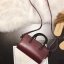 [ พร้อมส่ง ] - กระเป๋าถือ/สะพาย สีไวน์แดง ขนาดกระทัดรัด ดีไซน์สวยเรียบหรู ดูดี งานหนังมันเงาสวย คุณภาพดีค่ะ thumbnail 7