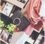 [ พร้อมส่ง ] - กระเป๋าคลัทช์ สะพาย สีเรนโบว์ หนังดำเท่ๆ ดีไซน์สวยหรู ฟรุ้งฟริ้ง วิ้งค์ๆทั้งใบ ขนาดกระทัดรัด งานสวยมากๆค่ะ สำเนา thumbnail 13