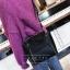 [ พร้อมส่ง ] - กระเป๋าถือ/สะพาย สีดำคลาสสิค ขนาดกลางๆ ดีไซน์สวยเรียบหรู ดูดี ไม่ซ้ำใคร งานหนังคุณภาพดีค่ะ thumbnail 6