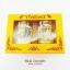 ของที่ระลึกไทย แก้วเป๊กคู่ ลวดลายเอกลักษณ์ไทย สีเงินทอง ปั้มลายเนื้อนูน สินค้าบรรจุในกล่องมให้เรียบร้อย สินค้าพร้อมส่ง thumbnail 5