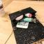 [ พร้อมส่ง ] - กระเป๋าคลัทช์ สะพาย สีดำ ดีไซน์สวยหรู ฟรุ้งฟริ้ง วิ้งค์ๆทั้งใบ ขนาดกระทัดรัด งานสวยมากๆค่ะ thumbnail 3