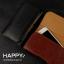 HAPPY กระเป๋าหนังคาดเอว เคส ซอง ไซด์ XXL แนวนอน สำหรับ Samsung Galaxy A7 / E7 thumbnail 1