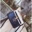 [ Pre-Order ] - กระเป๋าถือ/สะพาย สีน้ำเงิน ดีไซน์สวยน่ารัก ฟรุ้งฟริ้ง ใบกลางๆ ตกแต่งแม่กุญแจเก๋ๆ งานสวยไม่เหมือนใคร thumbnail 8