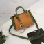 [ พร้อมส่ง ] - กระเป๋าถือ/สะพาย สีทูโทนเหลืองเขียว ใบเล็กกระทัดรัด ตกแต่งโลโก้ F เก๋ๆ ดีไซน์สวยเรียบหรู ดูดี งานหนังคุณภาพดี thumbnail 18