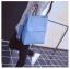 [ พร้อมส่ง ] - กระเป๋าสะพายไหล่แฟชั่น สีฟ้า ทรงถัง + กระเป๋าใบเล็ก 1 ใบ ดีไซน์สวยเรียบหรู ดูดี งานหนังคุณภาพดี พร้อมสายสะพายสุดเก๋ thumbnail 4