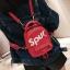 [ พร้อมส่ง ] - กระเป๋าเป้แฟชั่น สไตล์ยุโรป สีแดง Spur ใบเล็กกระทัดรัด ดีไซน์สวยเก๋ไม่ซ้ำใคร เหมาะกับสาว ๆ ที่กำลังมองหากระเป๋าเป้ใบจิ๋ว thumbnail 11