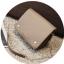 [ พร้อมส่ง ] - กระเป๋าถือ/สะพาย สีเทาอมน้ำตาล ขนาดกระทัดรัด ทรงสี่เหลี่ยม ดีไซน์สวยเรียบหรู ดูดี งานหนังคุณภาพดี ช่องใส่ของเยอะมาก thumbnail 11