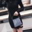 [ พร้อมส่ง ] - กระเป๋าถือ/สะพาย สีเงินวิ้งค์ๆ ขนาดใบเล็กๆ กระทัดรัด ดีไซน์สวยเก๋หัวบิดเปิดกระเป๋า ดูดี งานสวยน่ารักค่ะ thumbnail 8