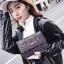 [ พร้อมส่ง ] - กระเป๋าแฟชั่น คลัทช์/สะพาย สีดำรุ้งวิ้งค์ๆ ทรงกล่องสี่เหลี่ยม ขนาดกระทัดรัด ดีไซน์สวยเรียบหรู ดูดี งานสวยค่ะ thumbnail 12