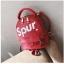 [ พร้อมส่ง ] - กระเป๋าเป้แฟชั่น สไตล์ยุโรป สีแดง Spur ใบเล็กกระทัดรัด ดีไซน์สวยเก๋ไม่ซ้ำใคร เหมาะกับสาว ๆ ที่กำลังมองหากระเป๋าเป้ใบจิ๋ว thumbnail 23
