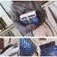 [ Pre-Order ] - กระเป๋าถือ/สะพาย สีน้ำเงิน ดีไซน์สวยน่ารัก ฟรุ้งฟริ้ง ใบกลางๆ ตกแต่งแม่กุญแจเก๋ๆ งานสวยไม่เหมือนใคร thumbnail 9