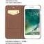Qialino เคสหนังวัวแท้ Samsung Galaxy iPhone 6 /7 /8 สไตล์อิตาลี thumbnail 7