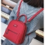 [ พร้อมส่ง Hi-End ] - กระเป๋าเป้แฟชั่น สีแดง ดีไซน์สวยเรียบหรู ดูดีสไตล์แบรนด์ งานหนังคุณภาพดี ช่องเยอะงานสวย thumbnail 5