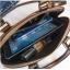 [ พร้อมส่ง ] - กระเป๋าถือ/สะพาย สีดำ ดีไซน์สวยหรู ฟรุ้งฟริ้ง วิ้งค์ๆทั้งใบ ใบกลางๆ ห้อยดาว งานสวยมาก thumbnail 21