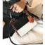 [ พร้อมส่ง ] - กระเป๋าถือ/สะพาย สีทูโทนขาวดำ ทรงกล่องขนาดกระทัดรัด ห้อยป้ายเก๋ๆ ดีไซน์สวยเรียบหรู ดูดี งานหนังคุณภาพดี ช่องใส่ของ 3 ช่อง thumbnail 1