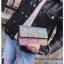 [ พร้อมส่ง ] - กระเป๋าแฟชั่น คลัทช์/สะพาย สีรุ้งวิ้งค์ๆ ทรงกล่องสี่เหลี่ยม ขนาดกระทัดรัด ดีไซน์สวยเรียบหรู ดูดี งานสวยค่ะ thumbnail 10