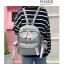 [ พร้อมส่ง ] - กระเป๋าเป้แฟชั่น สีเทา สุดเท่ ดีไซน์สวยเก๋ไม่ซ้ำใคร สวยสุดมั่น เหมาะกับสาว ๆ ที่ชอบกระเป๋าเป้น้ำหนักเบาๆ thumbnail 6