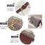 [ พร้อมส่ง ] - กระเป๋าคลัทช์ สะพาย สีเรนโบว์ หนังดำเท่ๆ ดีไซน์สวยหรู ฟรุ้งฟริ้ง วิ้งค์ๆทั้งใบ ขนาดกระทัดรัด งานสวยมากๆค่ะ สำเนา thumbnail 6