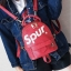 [ พร้อมส่ง ] - กระเป๋าเป้แฟชั่น สไตล์ยุโรป สีแดง Spur ใบเล็กกระทัดรัด ดีไซน์สวยเก๋ไม่ซ้ำใคร เหมาะกับสาว ๆ ที่กำลังมองหากระเป๋าเป้ใบจิ๋ว thumbnail 12