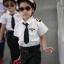 ชุดแฟนซีอาชีพในฝัน คุณหนูนักบินเด็กชาย Size S-L thumbnail 2