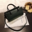 [ พร้อมส่ง ] - กระเป๋าถือ/สะพาย สีเขียวเข้ม ขนาดกระทัดรัด ดีไซน์สวยเรียบหรู ดูดี งานหนังมันเงาสวย คุณภาพดีค่ะ thumbnail 5