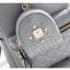 [ พร้อมส่ง ] - กระเป๋าเป้แฟชั่น สีดำคลาสสิค ปักหมุดเก๋ๆ สุดเท่ใบกลางๆ ดีไซน์สวยไม่ซ้ำใคร เหมาะกับสาว ๆ ที่ชอบกระเป๋าเป้ แถมเป๋าลูก thumbnail 13