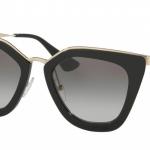แว่นกันแดด Prada PR 53SS 1AB0A7 Black/Grey Gradient
