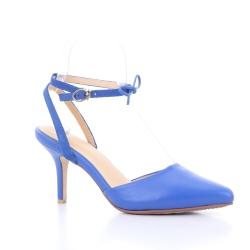 Scarlett Pointy Heel (Blue) ส้นสูง ทรงหัวแหลม สีน้ำเงิน