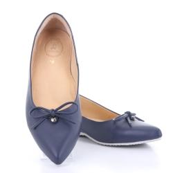Jackie Pointy Ballet (Navy Blue) บัลเลต์ หัวแหลม สีน้ำเงิน