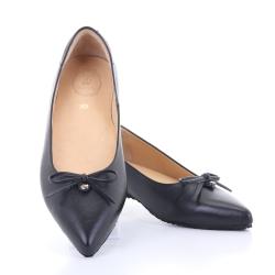 Jackie Pointy Ballet (Black) บัลเลต์ หัวแหลม สีดำ