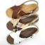 Arya Leather Sandal (Rose Gold) รองเท้าแตะ แบบสวมไขว้ สีสายรัดส้น สีโรสโกลด์ thumbnail 8