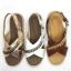 Arya Leather Sandal (Rose Gold) รองเท้าแตะ แบบสวมไขว้ สีสายรัดส้น สีโรสโกลด์ thumbnail 11