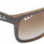 Ray-Ban RB4165 865/T5 Justin Havana Brown Gradient Polarized thumbnail 6