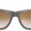 Ray-Ban RB4165 865/T5 Justin Havana Brown Gradient Polarized thumbnail 2