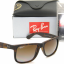 Ray-Ban RB4165 865/T5 Justin Havana Brown Gradient Polarized thumbnail 1
