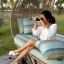 Arya Leather Sandal (White) รองเท้าแตะ แบบสวมไขว้ สีสายรัดส้น สีขาว thumbnail 8