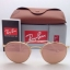 Ray Ban RB3447 112/Z2 Round metal pink mirror 50mm thumbnail 2