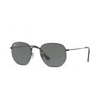 Ray Ban RB3548N 002/58 hexagonal Black Polarized