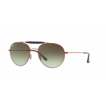 Ray Ban RB3540 9002A6 MEDIUM BRONZE Green Gradient Brown