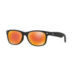 Ray Ban Wayfarer RB2132F 622/69 Orange Flash Mirror
